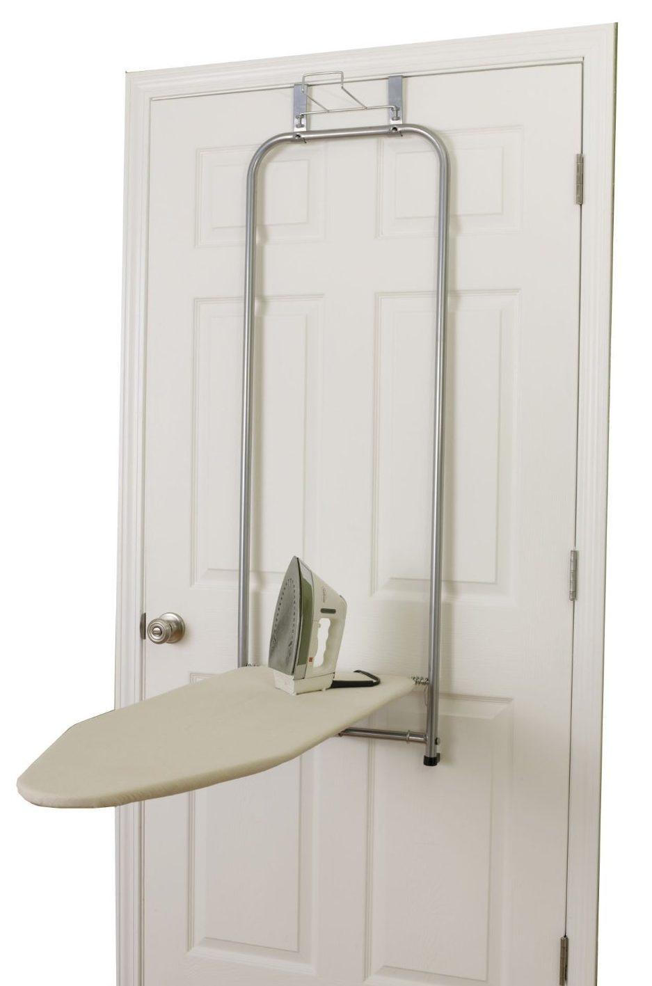 Over The Door 3 Tier Bathroom Towel Bar Rack Chrome W: Over The Door Ironing Board Reviews : 2 Top Rated Models