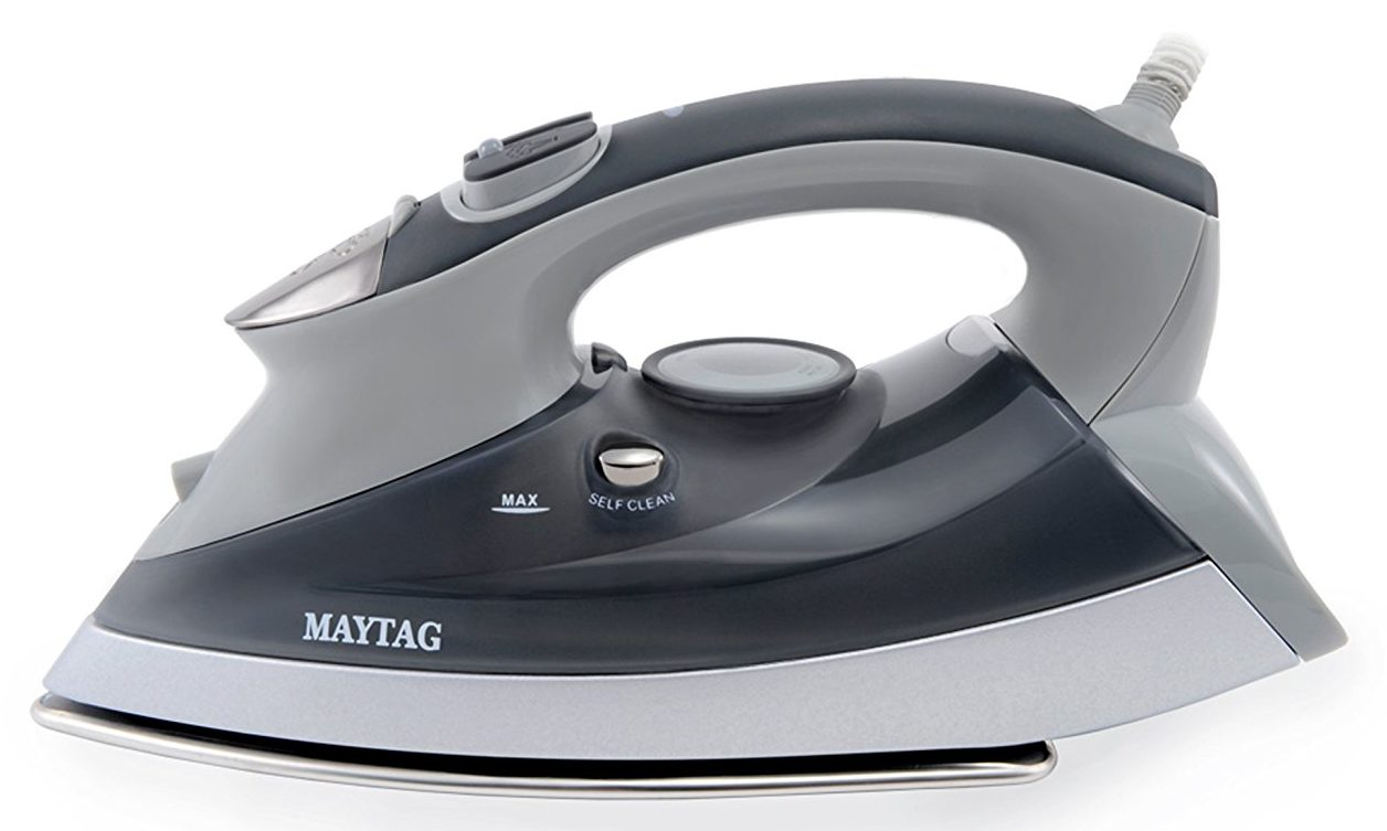 maytag m400 review speed heat iron and vertical steamer